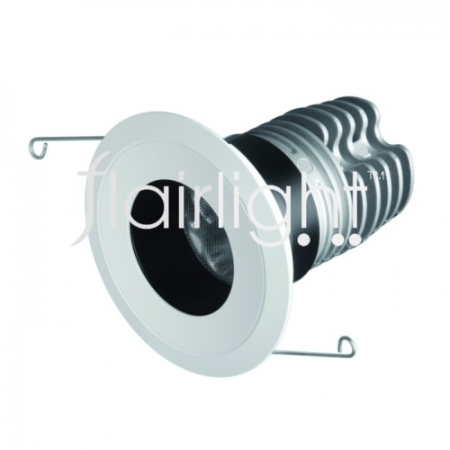 Flairlight IP44 12.4w Fixed Regressed 10 Degree LED Down Light