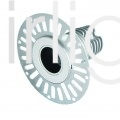 Flairlight IP20 Plaster-in 12.4w Regressed Tilt LED Down LED Down Light