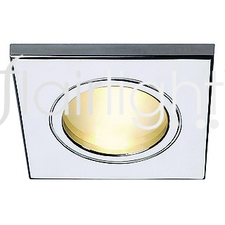 Flairlight IP44 Square (Non-Fire rated) Mains Dimmable LED Down Light