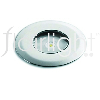 Flairlight IP44 Round Fixed Shallow LED Up Light