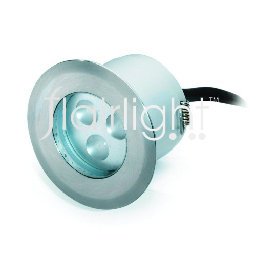 Flairlight IP66 Fixed Buried Up Light with Clear Glass