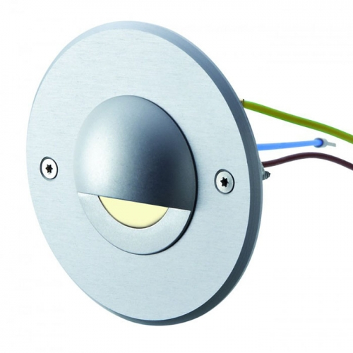 Round Side-Light 230v LED Wall Light with Anti-Glare Cowel