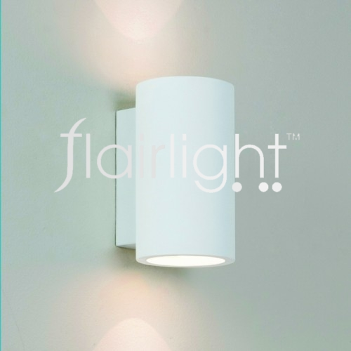 Flairlight IP20 Plaster Dual Emission Wall Light - LED