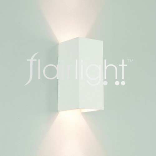 Flairlight IP20 Plaster Dual Emission Wall Light