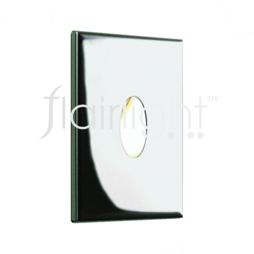 Flairlight IP65 Recessed Square Low Level LED Wall Light