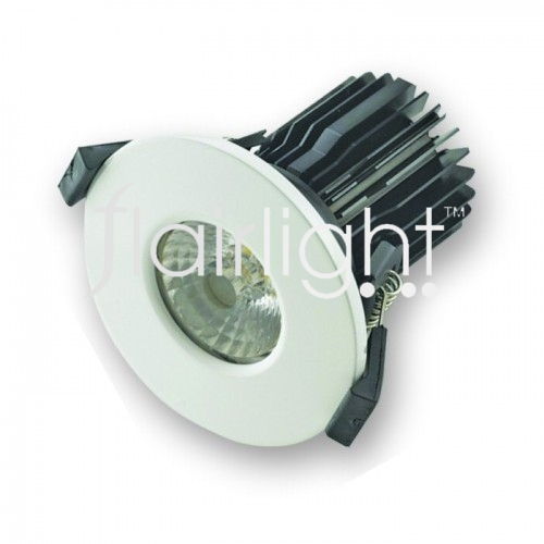 Flairlight IP65 10w fire rated LED down light