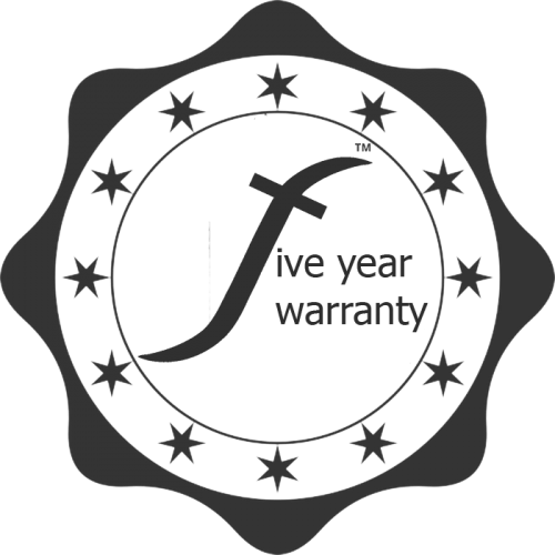 5 year warranty for Flairlight