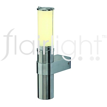 Flairlight IP44 Wall Light - Stainless Steel