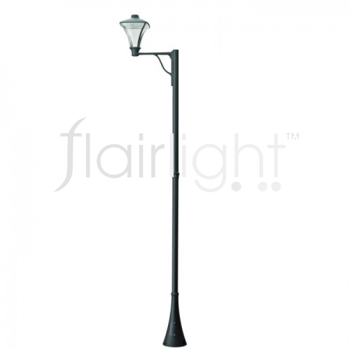 Flairlight IP65 LED Single Arm Column