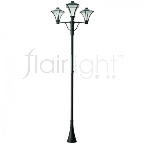 Flairlight IP65 LED Triple Arm Column