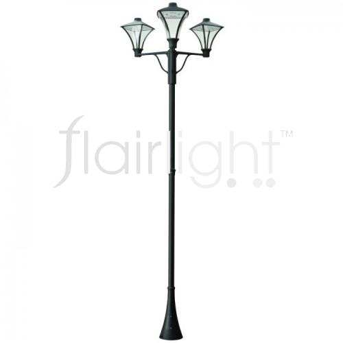 Flairlight IP65 LED Triple Arm Column