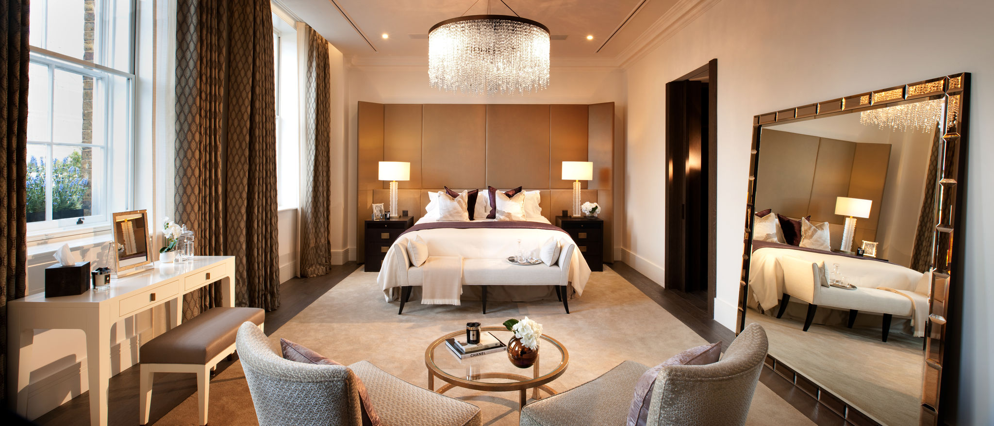 Connaught Place, Flairlight Designs bedroom innovative LED lighting