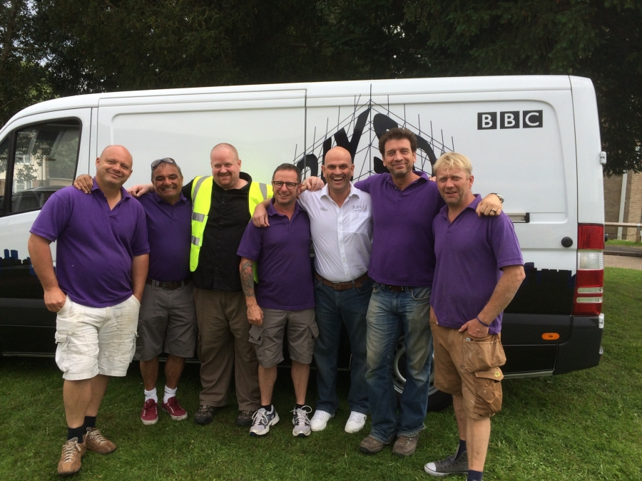 DIY SOS Epsom with Flairlight lighting designs in surrey