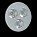 Flairlight 3 x 1w High Output MR16 LED Lamps