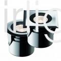 Flairlight dot-spot IP68 Round 3w 12vDC Brilliance-Midi LED Uplight