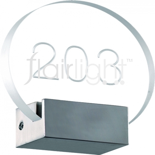 flairlight custom wall light circular