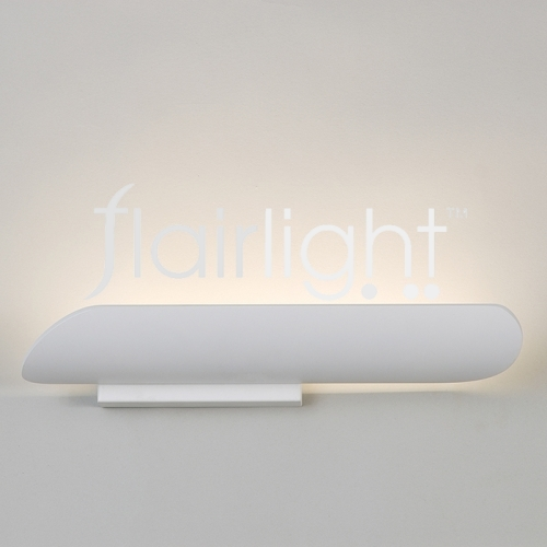Flairlight LED White Metal Wall Light LG