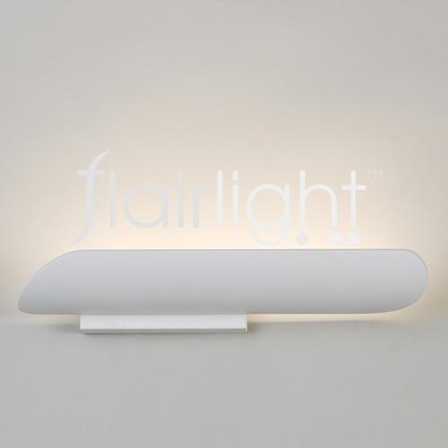 Flairlight LED White Metal Wall Light LG