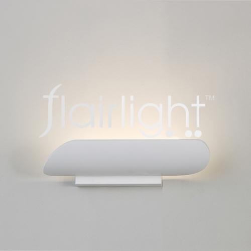Flairlight LED White Metal Wall Light SM