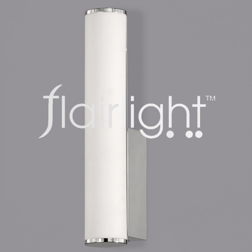 Flairlight LED IP44 Single Chrome Wall Light