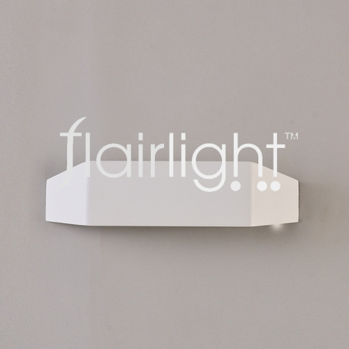 Flairlight LED Textured White Wall Luminaire