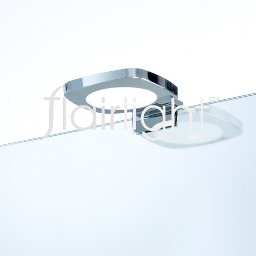 Flairlight LED IP44 Chrome Mirror