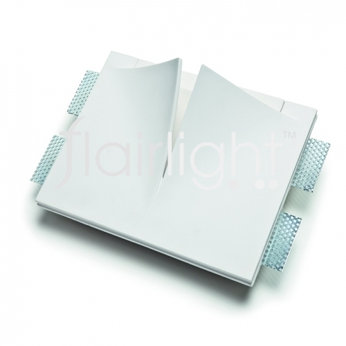 Flairlight 7w IP20 Plaster-in Luminaire -V Slot