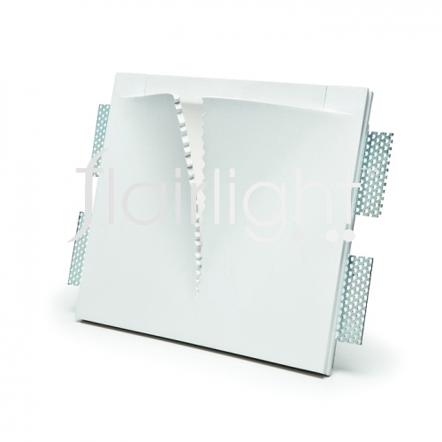 Flairlight 7w IP20 Plaster-in Luminaire -V Cut
