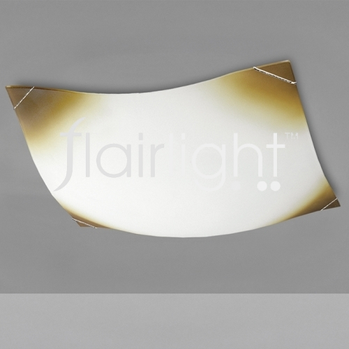Flairlight 15w Decorated Glass Ceiling Luminaire