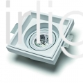 Flairlight 7w IP20 Square Plaster-in Adjustable LED