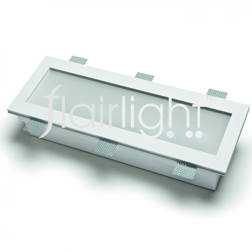 Flairlight 21w IP20 Recangular Plaster-in Luminaire