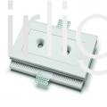 Flairlight 3.3w IP20 Plaster-In Down Light - Circular Optic