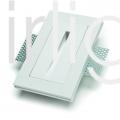 Flairlight 1w IP20 Plaster-in Guidance Light - Straight Slot