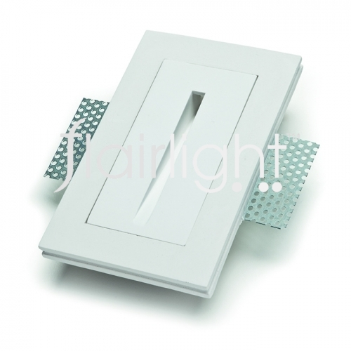 Flairlight 1w IP20 Plaster-in Guidance Light - Straight Slot