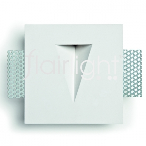 Flairlight IP20 1w Plaster-in Guidance Light - V Slot