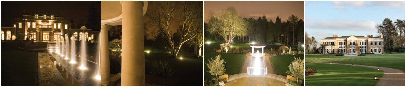 Garden lighting images