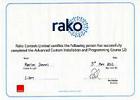 Rako certificate