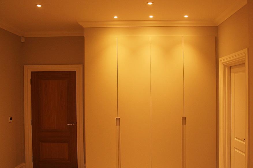 bedroom 2 wardrobe lighting- website