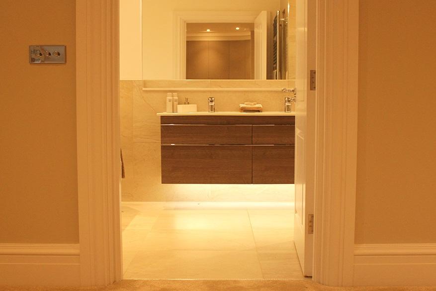 bedroom 3 lighting en suite - website