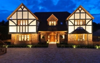 Flairlight designs outdoor lighting in epsom