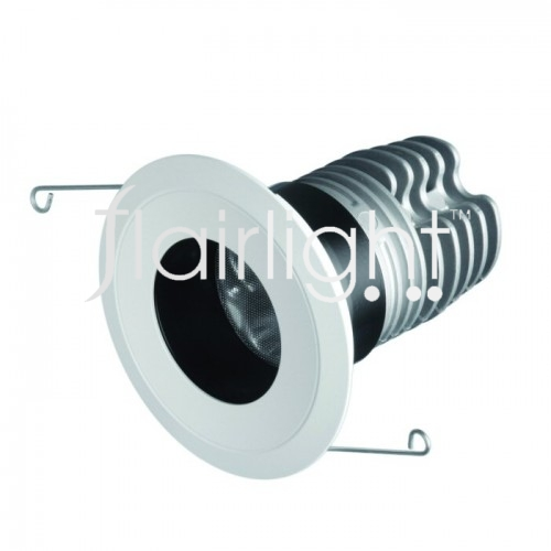 Flairlight IP44 Regressed Fixed 12.4w LED Down Light