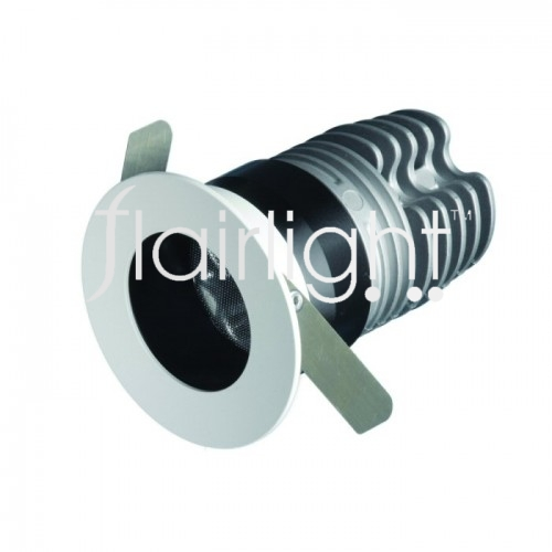 Flairlight IP44 Miniature Regressed Fixed 12.4w LED Down Light