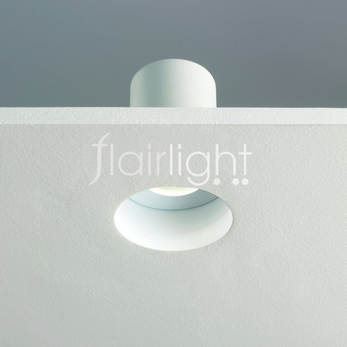 Flairlight IP65 Plaster-in Fixed Fire Rated Mains Down Light