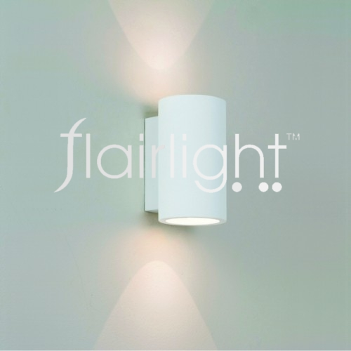 Flairlight IP20 LED Plaster Dual Emission Wall Light
