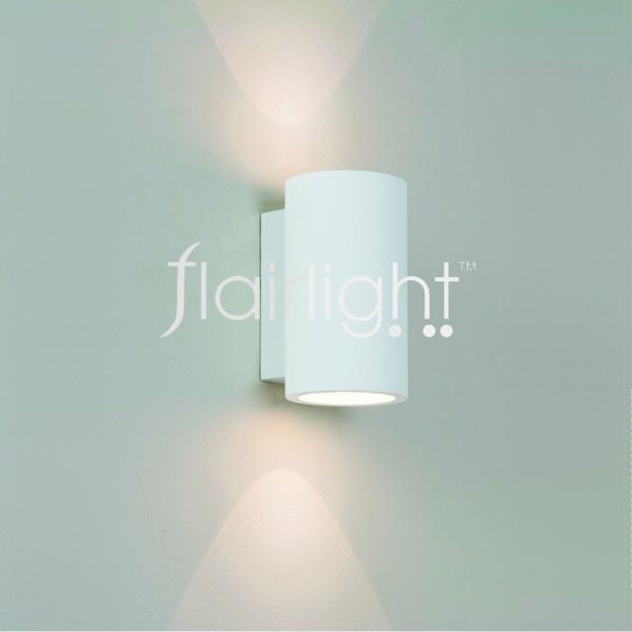 Flairlight IP20 LED Plaster Dual Emission Wall Light