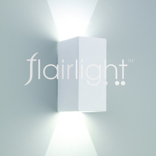 Flairlight Plaster Dual Emission Wall Light IP20