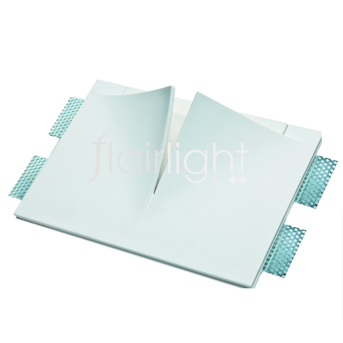 Flairlight IP20 Plaster-in Wall Luminaire - 1 x 13w