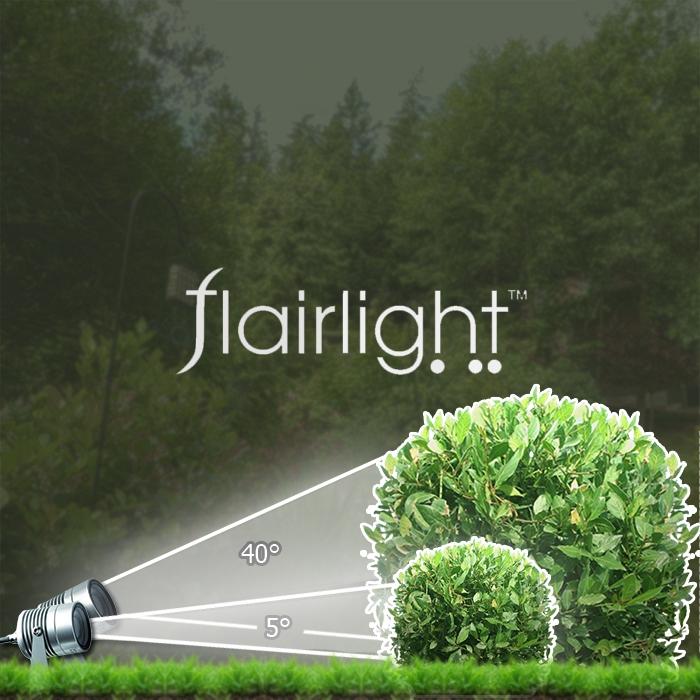 Mini garden spotlight