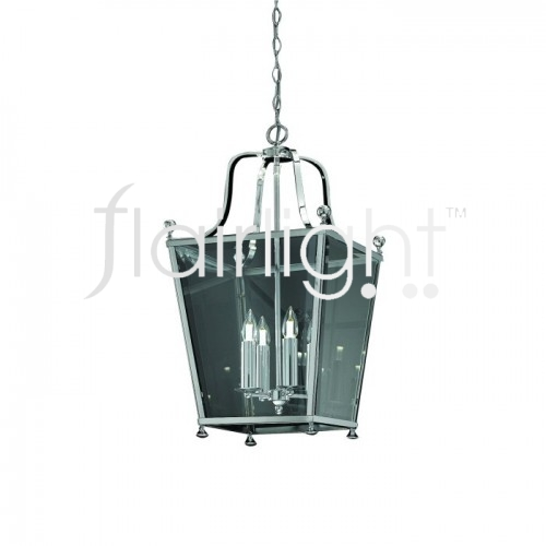 Flairlight IP44 Lantern with Bevelled Glass