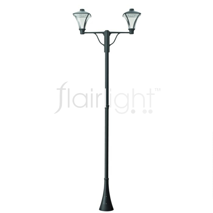 Flairlight IP65 LED Double Arm Column